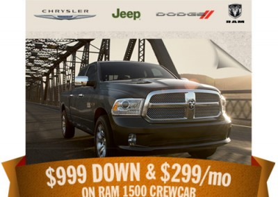 Chrysler Jeep Dodge Ram promo