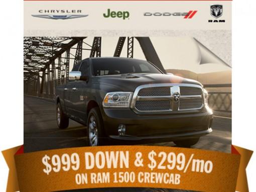 Chrysler Jeep Dodge Ram promo