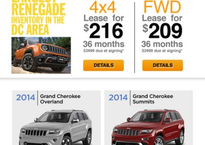 Renegade jeep promo