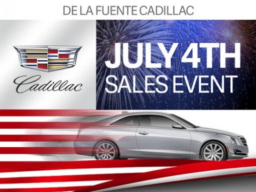 Cadillac dealer promo