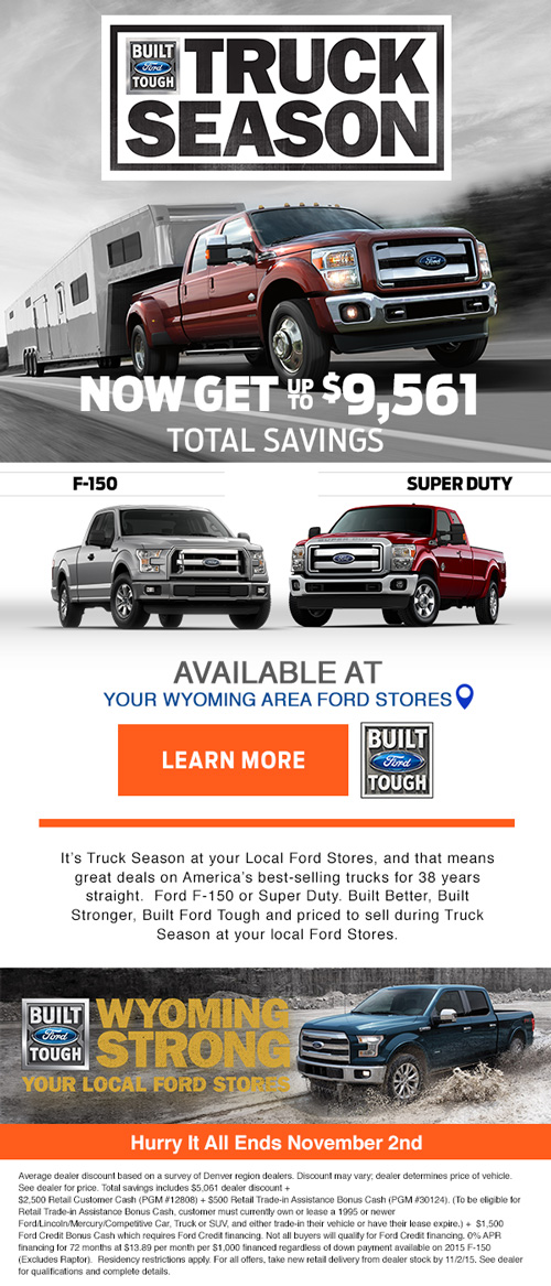 Ford truck promo