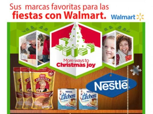 Walmart holiday promo