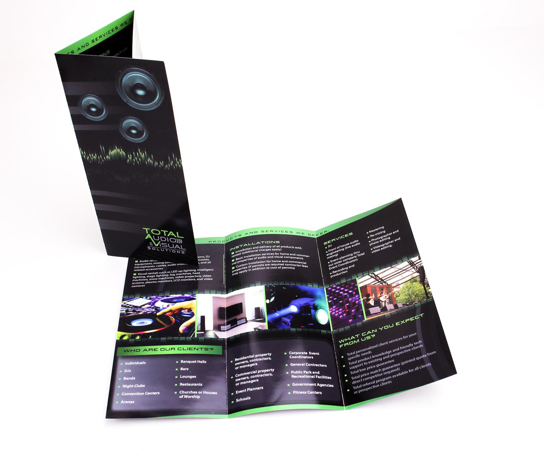 TAV Tri-fold Brochure