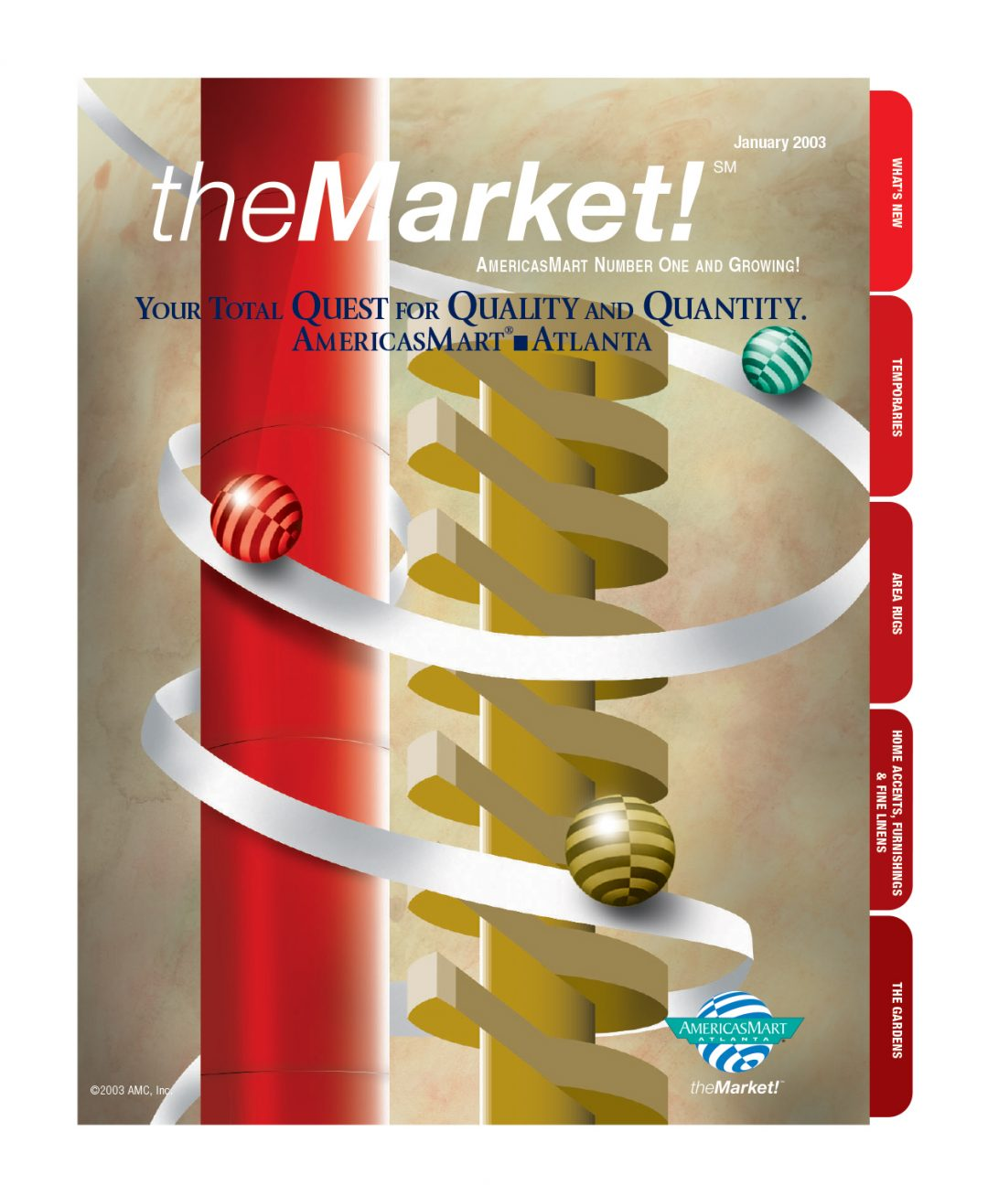 The Market Cover Design