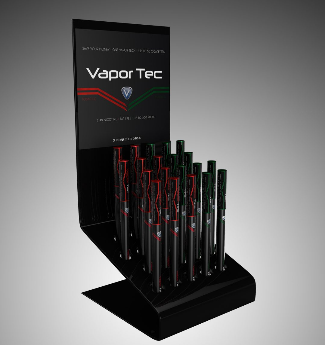 Vapor Tec store display
