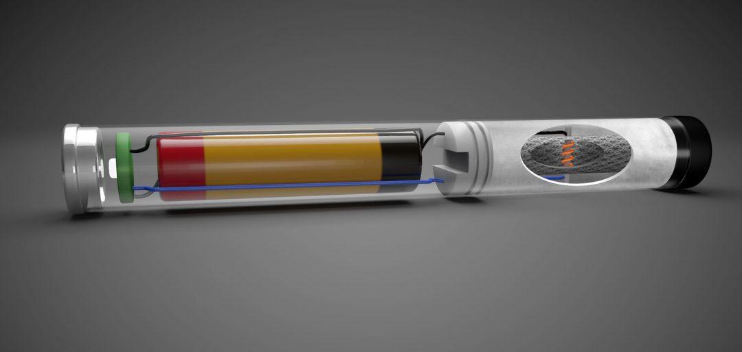 E-cigarette illustration
