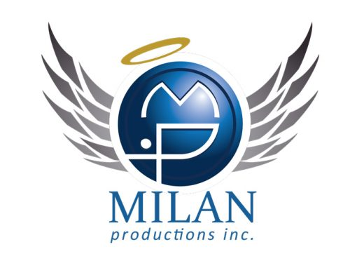 Milan Productions Inc. Logo Design