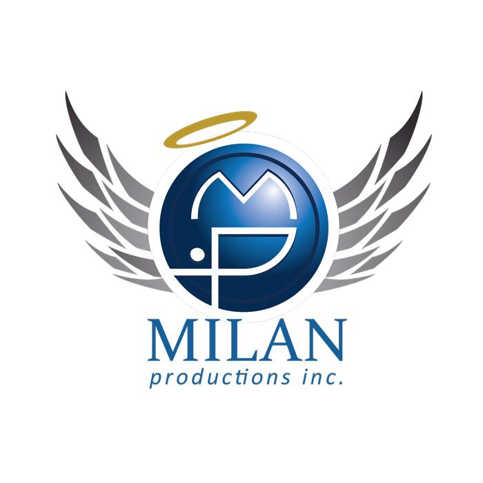 Milan Productions Inc. Logo Design