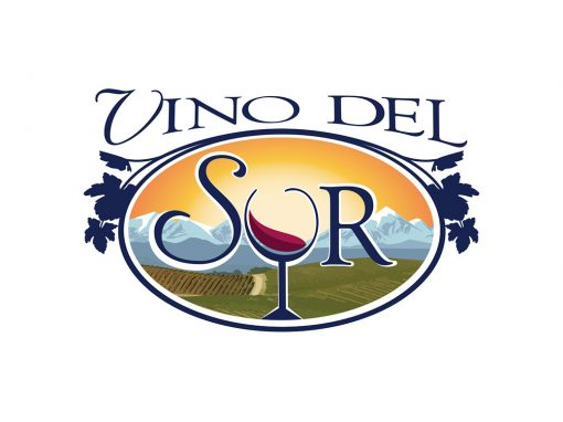 Vino Del Sur Logo Design