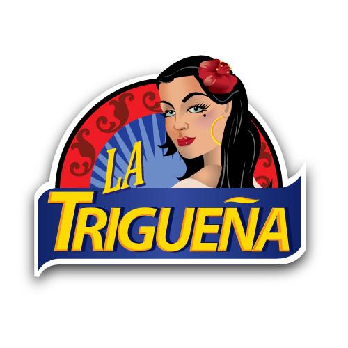 La Trigueña Logo Design