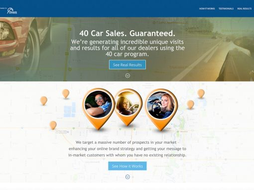 40 Cars Website