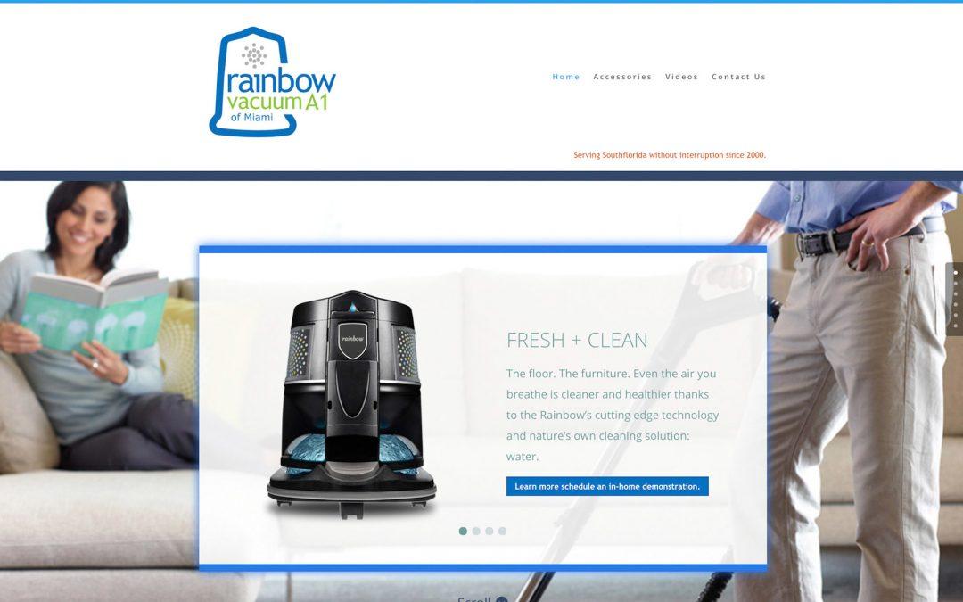 Rainbow Vacuum A1 Website