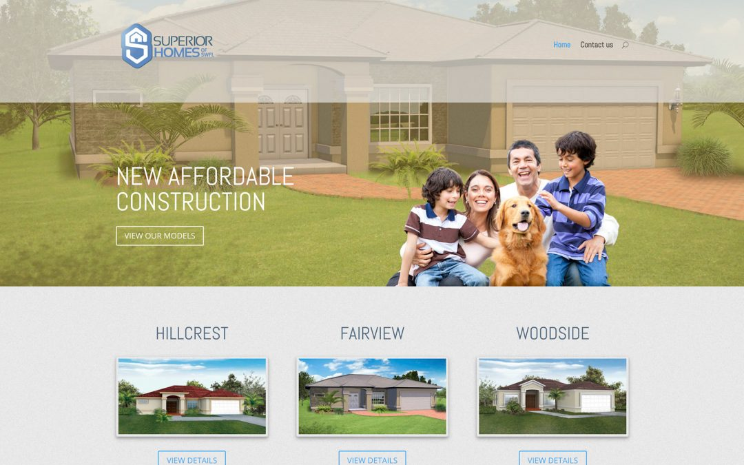 Superior Homes Website
