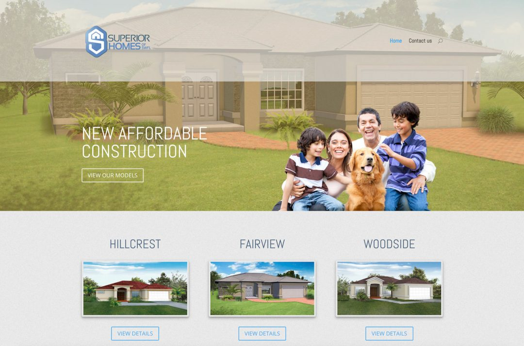 Superior Homes Website