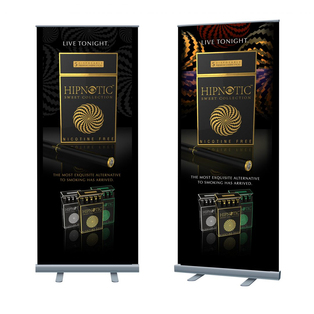 Trade show Banners Hypnotic