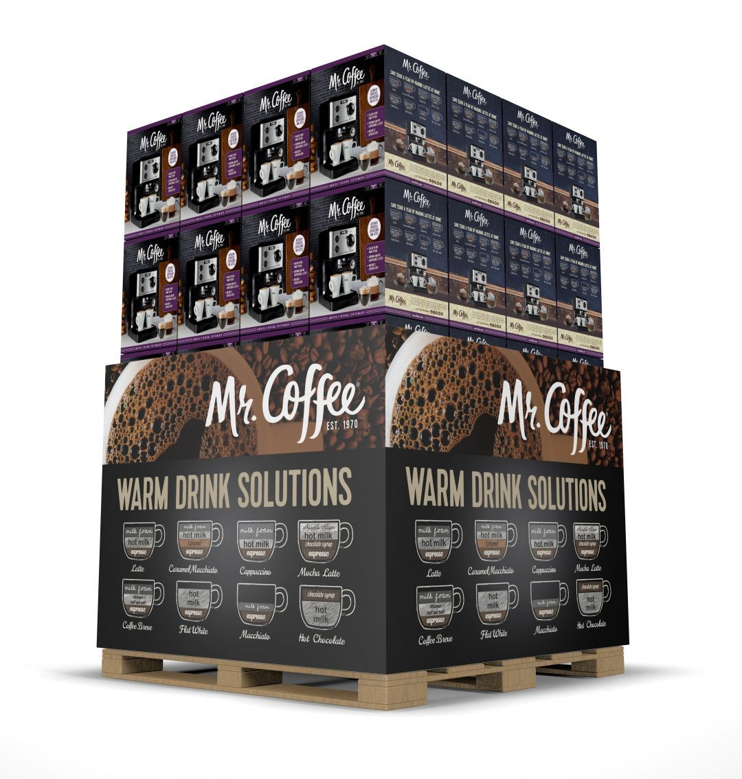 Mr Coffee palette promo