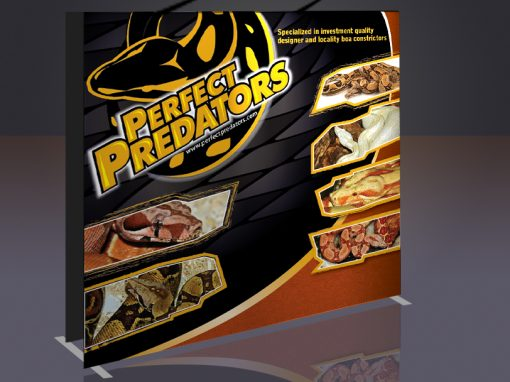 Trade show Backdrop Perfect Predators